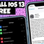 NEW Install iOS 13 Beta FREE On iPhone iPad iPod NO Data