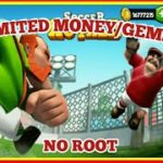 SOCCER ROYALE – MOD (UNLIMITED MONEYGEMS) – VERSION 1.3.1 – NO