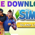 Sims 4 Island Living Free Download for PC Addon Only (Download
