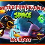 ANGRY BIRDS SPACE HD – MOD (UNLIMITED POWERUPSUNLOCK) – VERSION
