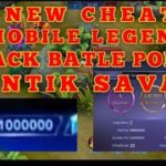 CHEAT MOBILE LEGEND BATTLE POINT + SUNTIK SAVAGE SEPUASNYA