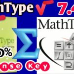 Download MathType 7.4.2 With License Key Download MathType