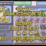 Pokemon FireRedLeafGreen Save File Data Complete + Script Cheat
