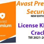 Avast Premium 19.7.2388 license key serial and Crack activation