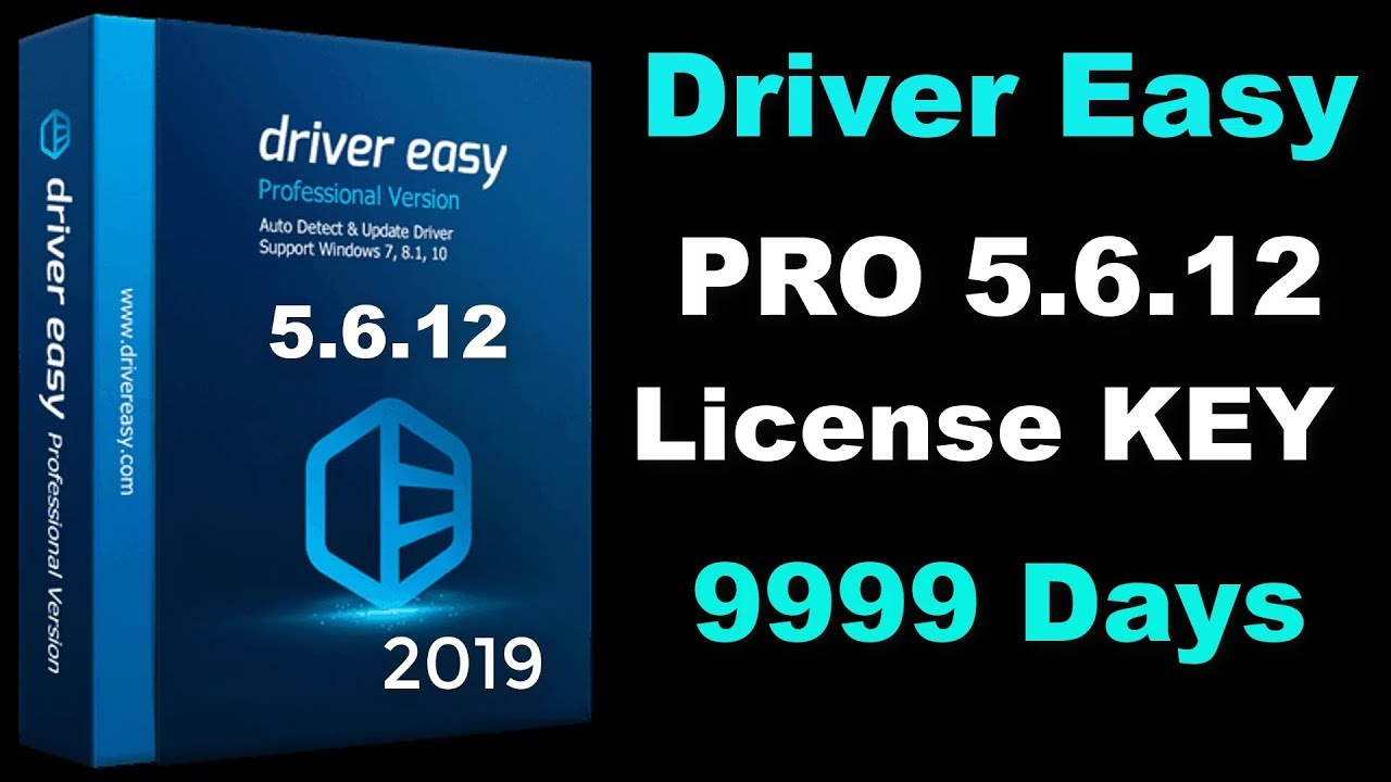 Driver Easy Pro 5.6.12 Serial Key 2019 9999 Days