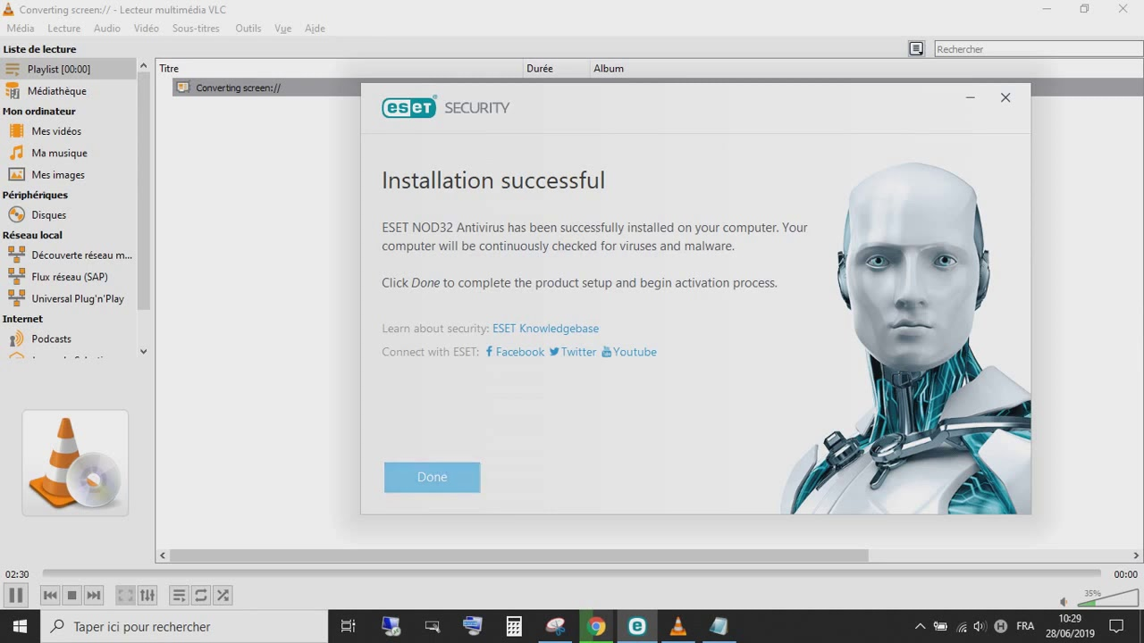 Eset Nod32 Antivirus License Key 2020 2021 10 License Key 100