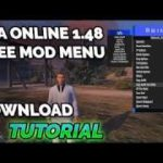 GTA 5 PC 1.48 FREE MOD MENU MONEY RP DOWNLOAD TUTORIAL