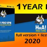 HMA pro vpn full version + license key for free 1 year