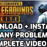 How To Download Install And Fix Any Problem In PUBG PC Lite