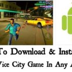 How to Download GTA VICE CITY for Android free 100 Work