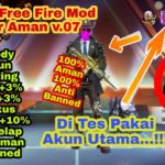 🔴 Update.. New Free Fire Mod Apk v.07 Cheat Super Aman