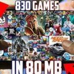 ⚡ 80MB⚡830 Android Games In 1 Zip File Best Android Games