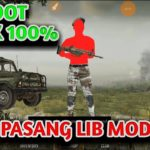 Cara Pasang Lib Mod PUBG Mobile No Root Anti Banned Cheat PUBG