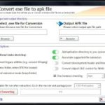 Convert exe to apk easily in just a few steps