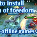 How to install Moba of freedom best moba offline games 2019