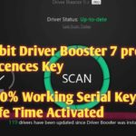 Iobit Driver Booster 7 Pro License Key (Latest 2019) । Life