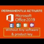 Permanently Activate Microsoft Office 2019 without any software