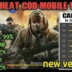 Cheat COD Mobile V.1.6.8 No Root, No Host New Script COD