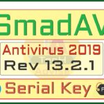 SmadAV Antivirus 2019 rev 13.2.1 Serial key crack PRO Update: