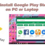 How To Download Install Google Play store app on PC or Laptop