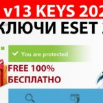 ESET v13 License Key for Nod32, Internet Security Smart