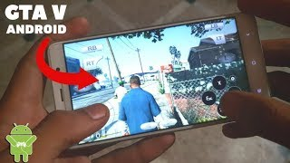 Download Grand Theft V (GTA 5) APK + OBB Data File For Android