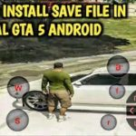 HOW TO INSTALL SAVE FILE IN REAL GTA 5 ANDROID NEW CLOUD