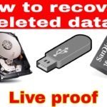 How to recover_data in hindi step by step with live proof