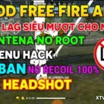 VIP MOD FREE FIRE 🔥 FILE FIX LAG DATA ANTENA – HEADSHOT💀