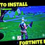 How To Install Fortnite On Your Mobile Phones Tagalog