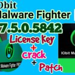 IObit Malware Fighter Pro 7.5.0.5842 License Key + Crack + Patch