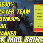 NEW UPDATE APK MOD BRUTAL RANK BOOSTER PATCH CECILION MOBILE