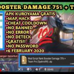 Trending Mod Script Rank Booster Damage 75 + Team Pro Apk