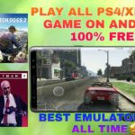 PLAY ALL PS4XBOXPC GAME ON ANDROID BEST CLOUD EMULATOR OF