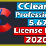 CCleaner Professional 5.67 License Key 2020