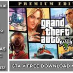 Gta 5 Free Download Epic Store Only 20 GB🔥 Update Pirated to