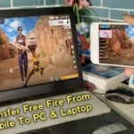 How To Transfer Free Fire Game Apk and Obb Data From Mobile To