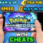 NEWPokemon Ultra Sun Moon For Android In 60FPS With Cheats