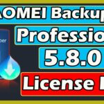 AOMEI Backupper Professional 5.8.0 License Key 2020 I aomei