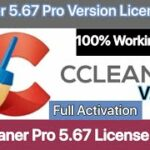 Ccleaner Pro 5.67 Version License Key Full Activation 2020