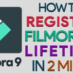 HOW TO REGISTERACTIVATE FILMORA 9 FOR LIFETIME IN 2MINS (2020)