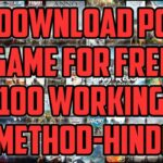 How To Download Any PC Game For Free In HINDI 100 Working Method