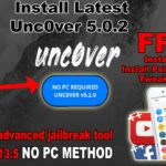Install Unc0ver 5.2.0 WITHOUT PCJailbreak iOS 11-13.5 Install