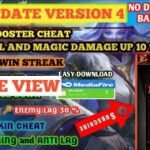 NEW DRONE VIEW AND RANK BOOSTER + HACK DAMAGE CHEAT MLBB