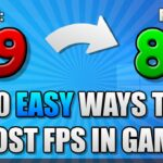 10 EASY Ways to Boost FPS in ALL Games on Windows 10 PC (2020)
