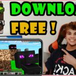 How to Get MINECRAFT POCKET EDITION FOR FREE ✅ New Way To