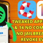 Install Tweaked Apps Games iOS 13 – 13.5 14 NO COMPUTER NO