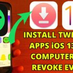 Install Tweaked Apps Games iOS 13 – 13.6 NO COMPUTER NO REVOKE