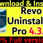 Revo Uninstaller Pro Full version Cracked latest version 2020