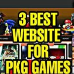 Top 3 Best Websites To Download PKG GAMES In 2020